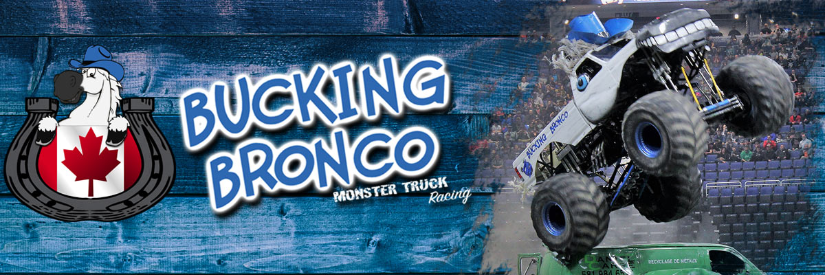 Bucking Bronco Monster Truck